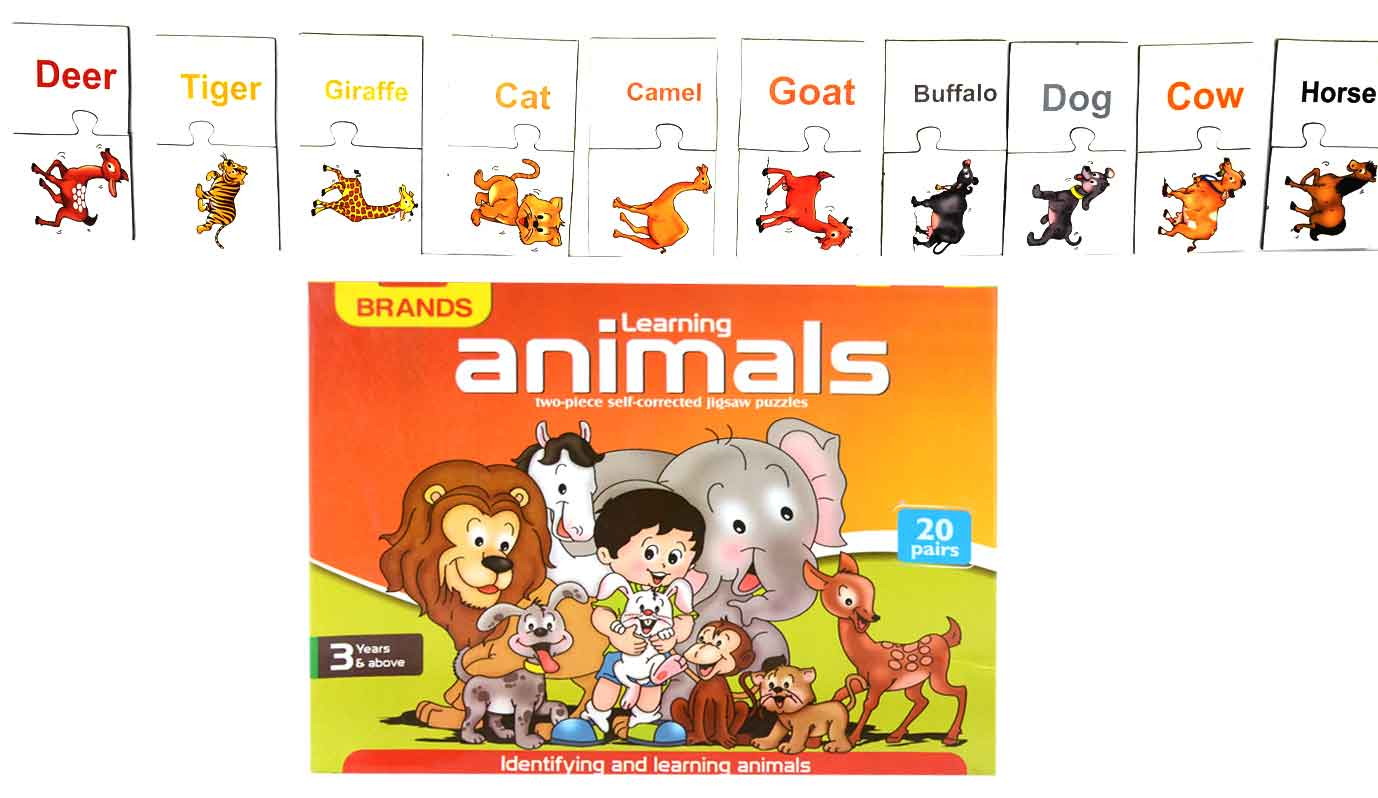Brands LEARNING ANIMALS