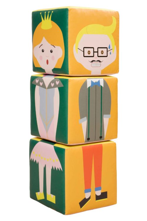 HEADS & BODIES BLOCKS SET