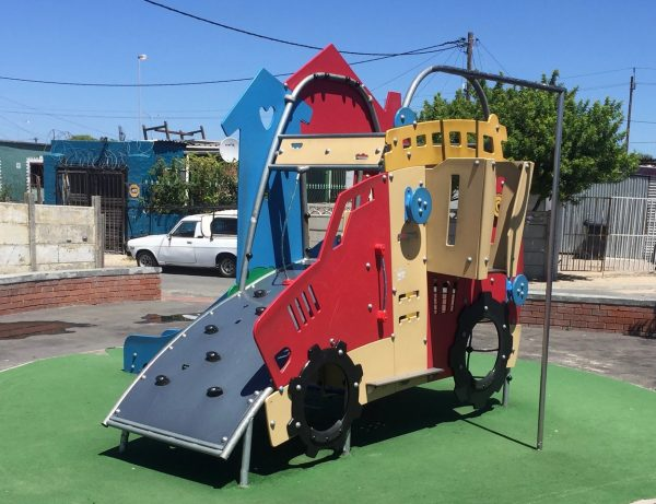 Playscape in the Cape Flats